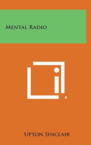 9781258891923: Mental Radio