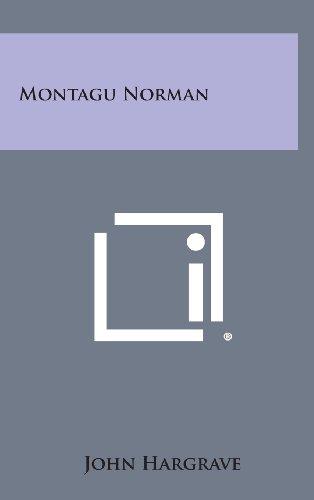 9781258893514: Montagu Norman