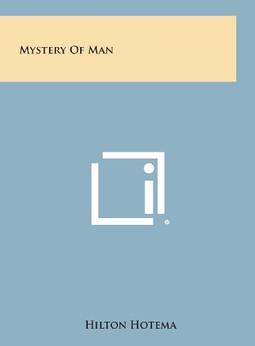 9781258895600: Mystery of Man