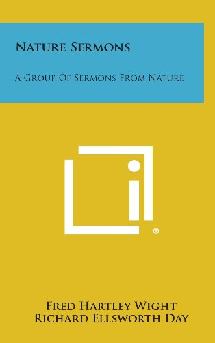 9781258896362: Nature Sermons: A Group of Sermons from Nature