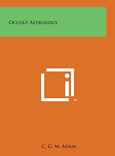 9781258898076: Occult Astrology