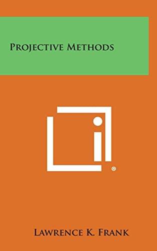 9781258905361: Projective Methods