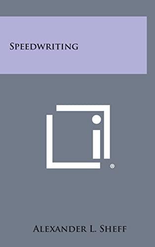 9781258917159: Speedwriting