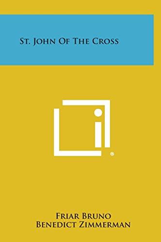 9781258917913: St. John of the Cross
