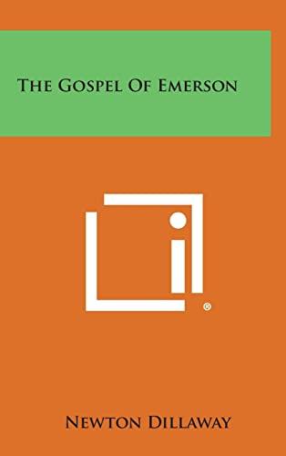 9781258934224: The Gospel of Emerson