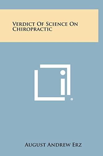 9781258968649: Verdict of Science on Chiropractic