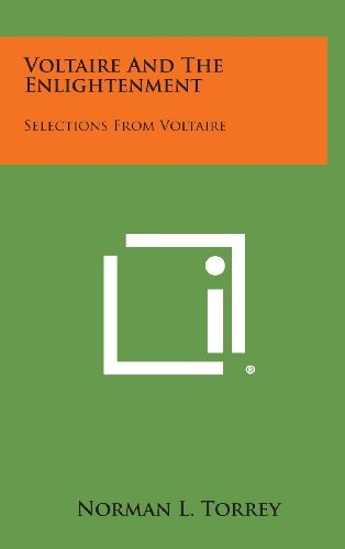 9781258969202: Voltaire and the Enlightenment: Selections from Voltaire