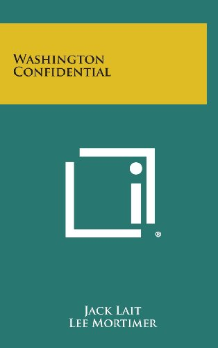 9781258969738: Washington Confidential