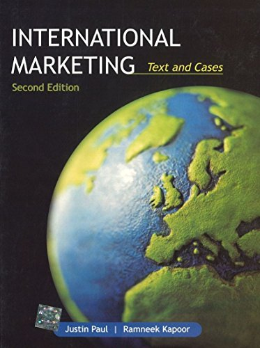 9781259001802: International Marketing Text and Cases