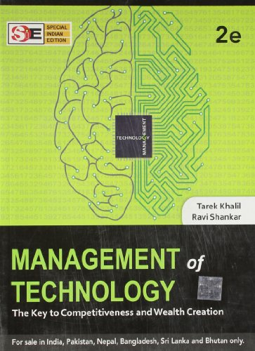 9781259001819: Management of Technology: The Key to Competitiveness and Wealth Creation