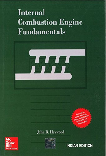 9781259002076: Internal Combustion Engine Fundamentals by J. Heywood (2011-03-24)