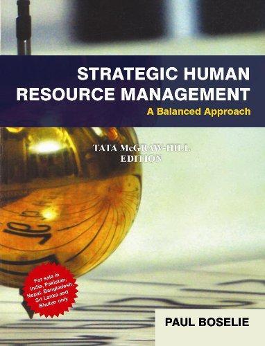 9781259002311: Strategic Human Resource Management