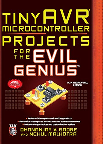 9781259002441: Tiny AVR Microcontroller Projects for the Evil Genius