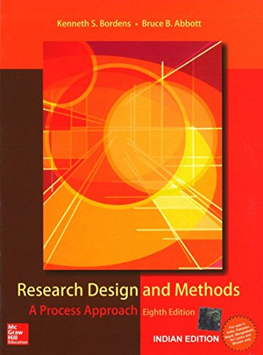 9781259002472: Research Design and Methods (A Process Approach)