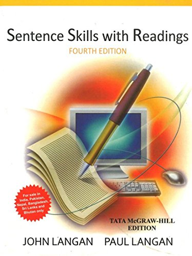 Sentence Skills with Readings (Fourth Edition): John Langan