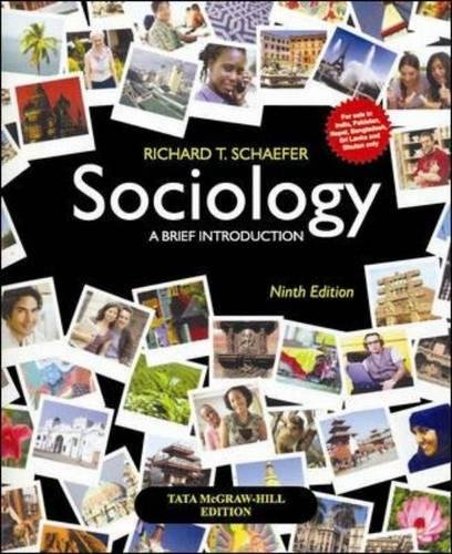 9781259002557: Sociology, a Brief Introduction (India Higher Education Arts & Humanities Sociology)