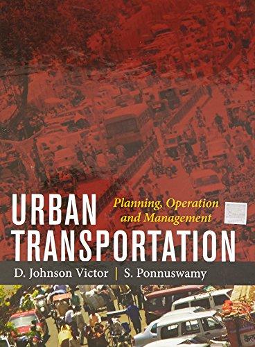 9781259002731: Urban Transportation : Planning Operation and Management