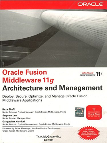 9781259003004: Oracle Fusion Middleware 11g Architecture and Management