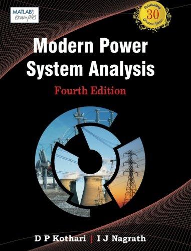 Modern Power System Analysis, 4e: Kothari, Dr. D