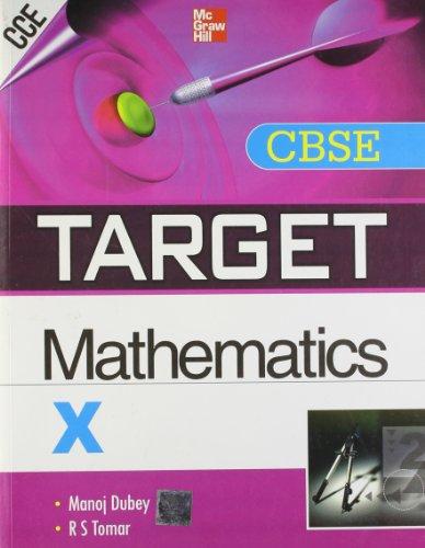 9781259003790: Target CBSE Mathematics (Class - X)