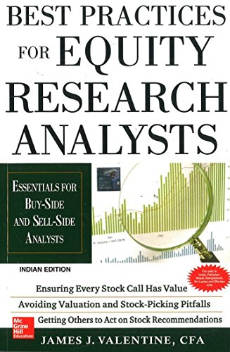 9781259003950: Best Practices for Equity Research Analysts : Essentials for Buy-Side and Sell-Side Analysts