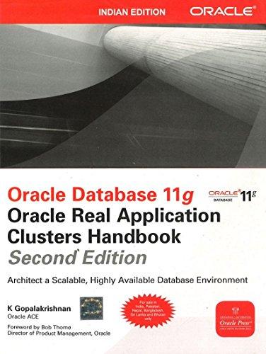 9781259004063: Oracle Database 11g: Oracle Real Application Clusters Handbook