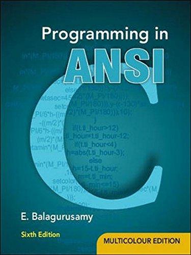 9781259004612: Programming in ANSI C