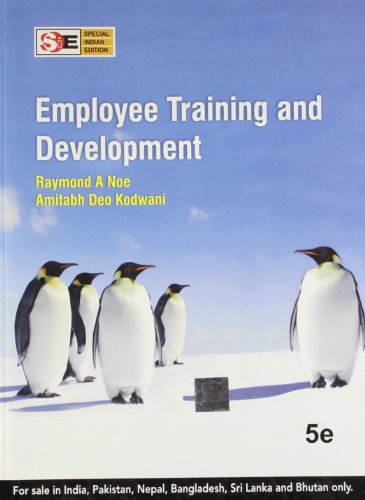 9781259004728: Employee Training and Development International Version 5th Edition