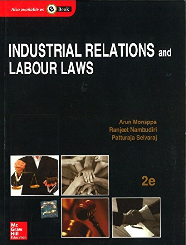 9781259004926: Industrial Relations and Labour Laws