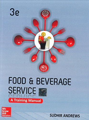 9781259004964: Food And Beverage Services: A Training Manual, 3Ed