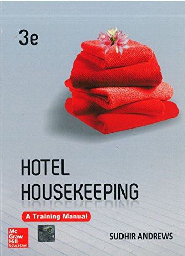 hotel housekeeping a training manual third edition by sudhir rh abebooks com Housekeeping Training 7 Minutes hotel housekeeping training manual sudhir andrews download