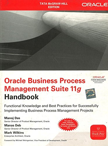 9781259005282: Oracle Business Process Management Suite 11g Handbook