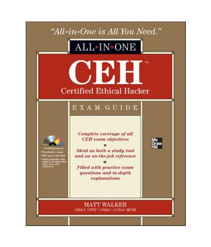 9781259005350: Ceh Certified Ethical Hacker All-In-One Exam Guide