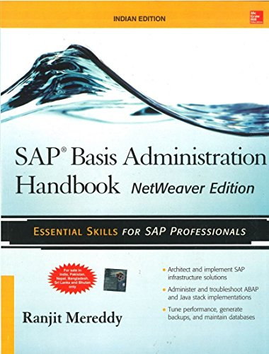 9781259005459: SAP Basis Administration Handbook, Netweaver Edition