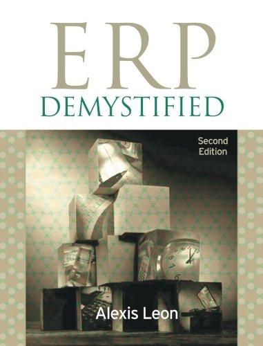 9781259005923: ERP Demystified