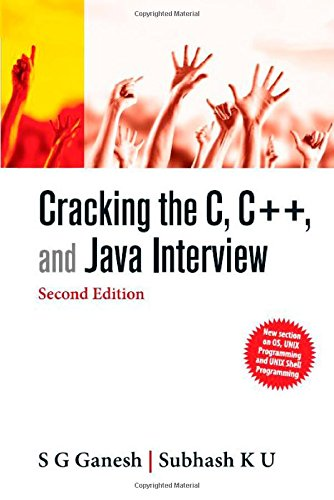 9781259006098: Cracking the C, C++ and Java Interview
