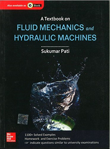 Textbook Of Fluid Mechanics And Hydraulic Machines,: Sukumar Pati