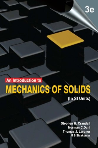 9781259006531: An Introduction to Mechanics of Solids: (In SI Units), 3e