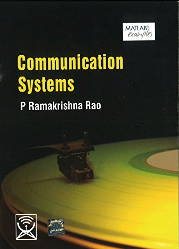 Communication Systems: P. Ramakrishna Rao