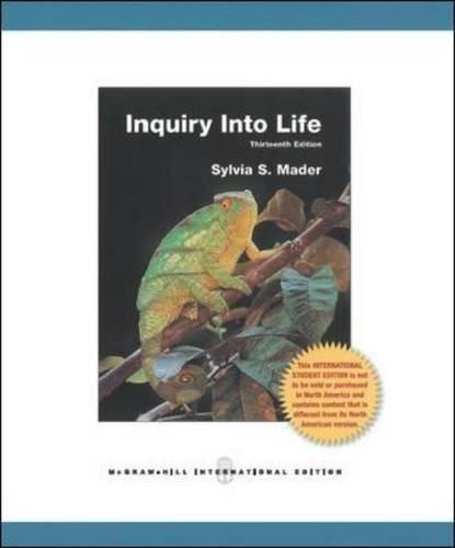 9781259007453: Inquiry into Life