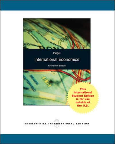9781259007606: International Economics