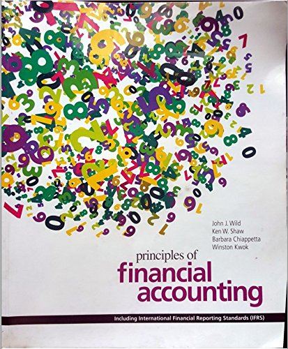 9781259007910: Principles of Financial Accounting: Including IFRS