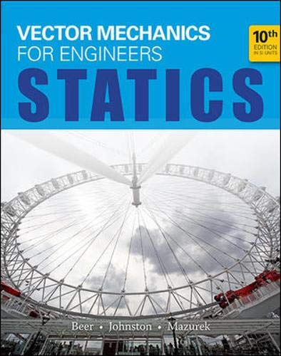 9781259007927: Vector Mechanics for Engineers: Statics (in SI Units)
