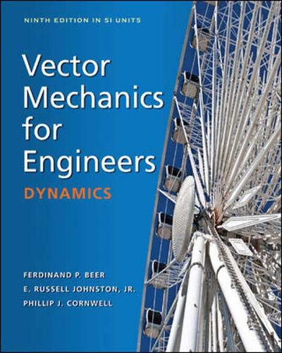 9781259007934: Vector Mechanics for Engineers: Dynamics (in SI Units)