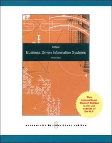 9781259007958: Business-Driven Information Systems