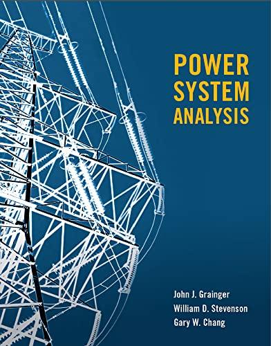 POWER SYSTEMS ANALYSIS (SI) (Paperback): John Grainger, William