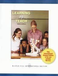 9781259008788: Learning to Teach