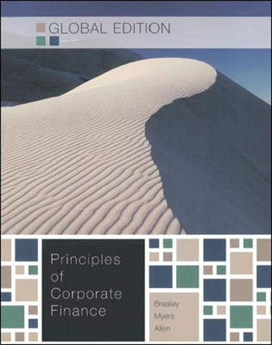 9781259009518: Principles of Corporate Finance