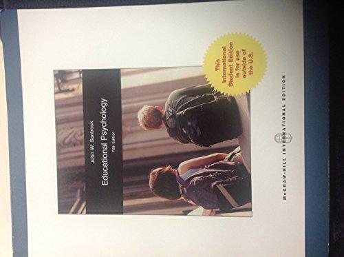 9781259010248: Educational Psychology 5th Edition John W. Santrock