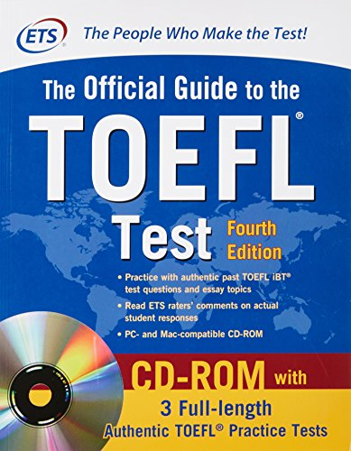 THE OFFICIAL GUIDE TO THE TOEFL TEST (1 BK./1 CD-ROM): Varios